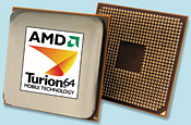 AMD's Turion 64 held its own last year.
