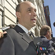 Balsillie: $613 million poorer, but optimistic. -- Photo by AP