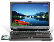 Fujitsu LifeBook N6410 notebook with Centrino Duo mobile technology