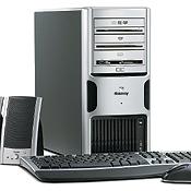 Gateway FX510 series of desktop PCs