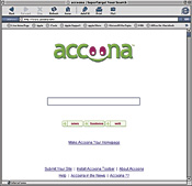 Accoona.com search engine