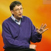 Bill Gates -- Photo by Ted S. Warren/AP