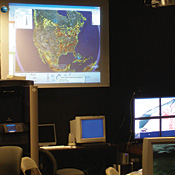 San Diego State University's visualization lab will serve as the nerve center for Strong Angel III