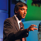 If it's not interoperable, it's no good, Anoop Gupta, Microsoft's corporate VP of unified communications, says.