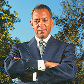 Symantec president and CEO John Thompson finds an ally.