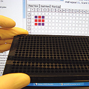 Imagine losing tic-tac-toe to DNA in a cell culture plate