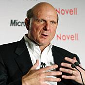Ballmer is making new friends