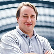 Linus Torvalds, still on the job.