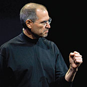 Apple CEO Steve Jobs -- Photo by Don Feria