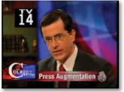 Who's responsible when Colbert clips end up on YouTube?