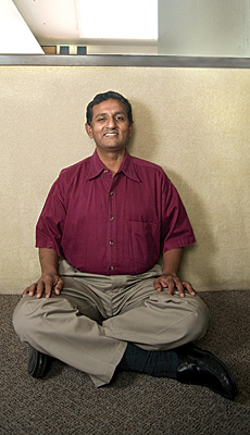 K.B. Chandrasekhar, CEO Of Jamcracker -- Photograph by Steve Labadassa