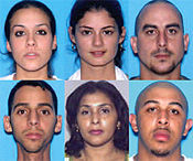 Six people arrested in Florida allegedly had bought $8 million worth of Wal-Mart gift cards using stolen TJX data