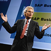 SaaS isn't for heavy lifting, says Kagermann -- Photo by AP