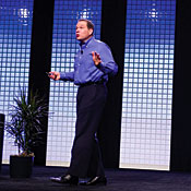 Bob Muglia, senior VP of Microsoft's server and tools business -- Photo by Kim Kulish