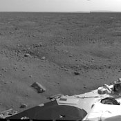 New data beamed back by Phoenix show it's in good health after its first night on Mars. -- Photo by NASA