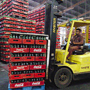Far-flung bottlers work more closely with Coke -- Photo by Getty Images