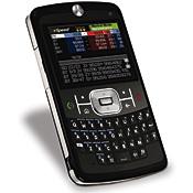 Motorola Q, a Windows Mobile phone, running the eSpeed financial trading app
