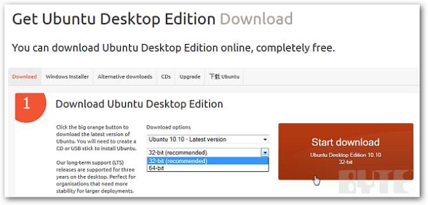 ubuntu 10.10 32 bits français
