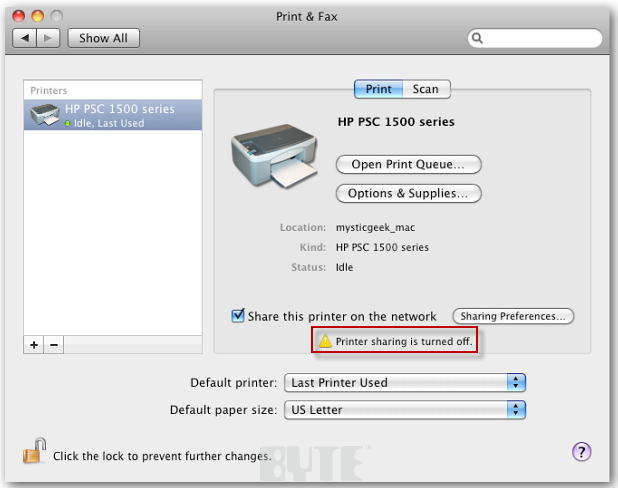 How To Print From A Windows PC To A Mac - InformationWeek