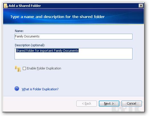 find shared folder