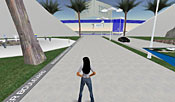 IBM has established several sites in Second Life -- several in partnership with other companies -- but despite their beauty, they are eerily devoid of virtual life.