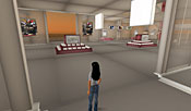 No avatars were interested in trying on and buying virtual shoes on any of the days that our InformationWeek reporter stopped by.