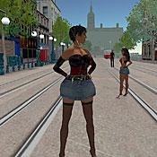 Ebony escort girl