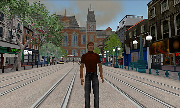 Second Life -- Amsterdam