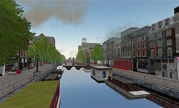 Amsterdam, one of the biggest, most popular, and visually most beautiful areas in Second Life, sold this week on eBay for $50,000 US.