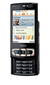 Nokia's N95 includes a 5 megapixel camera, built-in A-GPS, and a two-way slide for easy access to telephony and multimedia functions.