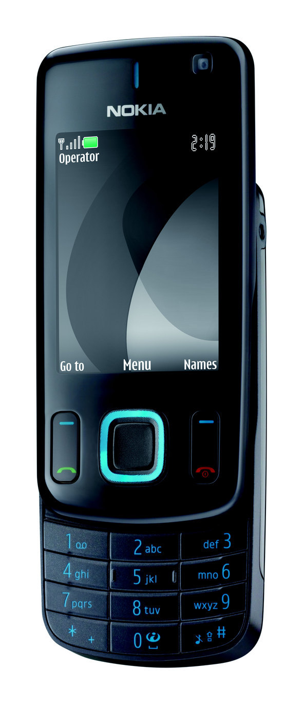 The latest Nokia 6600 slide phone comes with a 3.2 megapixel camera and a 2.2-inch QVGA display.