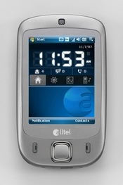The HTC Touch from Alltel uses an Alltel-specific application called Voice2TXT that converts incoming voicemails to text and sends them to the phone's text inbox.