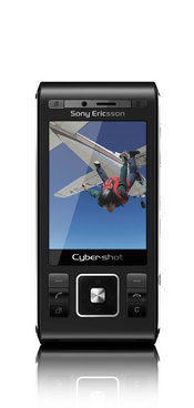 The Sony Ericsson C905 phone features an 8.1-megapixel camera with Xenon flash, auto-focus, and face detection.