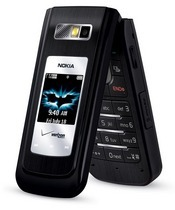 Nokia's 6205 The Dark Knight Edition is 3G-capable cell phone that's preloaded with content from the 