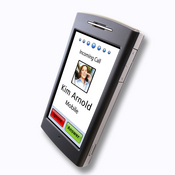 The nuvifone is the first mobile phone by Garmin, featuring GPS, a touch screen, and a Web browser.