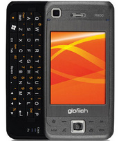 E-Ten's Glofiish M800 packs a slide-out QWERTY keyboard, Wi-Fi and 3.5G technology for high-speed Internet access, and a high-resolution VGA screen.