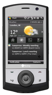 The HTC Touch Cruise has built-in GPS for personal navigation and 3G wireless connectivity for high-speed Internet access.