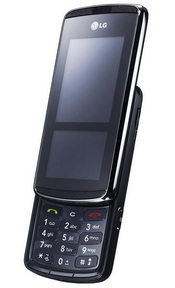 The LG KF600 feature an InteractPad that replaces physical buttons with virtual navigation keys that are tailored to specific phone functions.