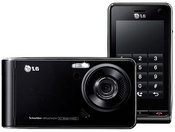 The LG Viewty is a professional-level camera phone that includes manual focus, an image stabilizer, and indoor or night shooting option.