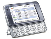 The N810 includes Ajax support for Web 2.0 applications such as GMail.