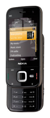 Nokia's N85 sports an  integrated Wi-Fi, assisted GPS, a 5-megpixel camera, and robust multimedia capabilities.