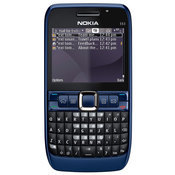 The E63 has a 2.3-inch screen, a full QWERTY keyboard, and can play a plethora of video and audio files.