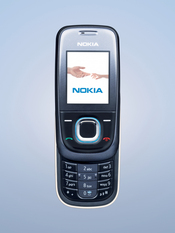 The Nokia 2680 slide is the vendor's first entry-level slider phone, and features a camera, FM radio, and MP3 ringtones.