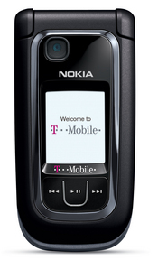 The T-Mobile Nokia 6263 is a classic clamshell phone that comes with e-mail capability and a XHTML browser.