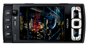 The Nokia N95 has 8GB of memory and comes with a 5 megapixel camera, 3G support, and Nokia Maps.