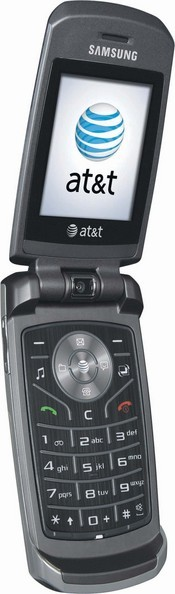 AT&T's SLM by Samsung is a durable clamshell-shaped cell phone packed with music and multimedia features.