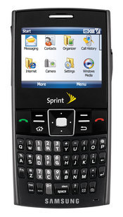 Sprint's Ace smartphone by Samsung uses the Windows Mobile 6 operating system and has global roaming capabilities for business travelers.