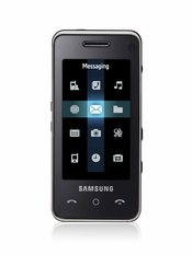 The SGH-F490 is Samsung's new multimedia phone with a full touch screen and intuitive user interface, initially available in Europe.