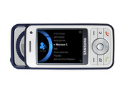 The Symbian-based Samsung i450 comes with a music player and an amplifier for better sound quality, as well as HSDPA 3G technology.