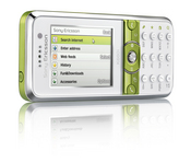 The Sony Ericsson K660 phone packs landscape Web browsing and dedicated shortcut keys into a slim design.